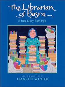 © Jeanette Winter, The Librarian of Basra: A True Story from Iraq used by permissions of Houghton Mifflin Harcourt.