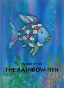 Rainbow Fish by Marchus Pfister, picture via Goodreads