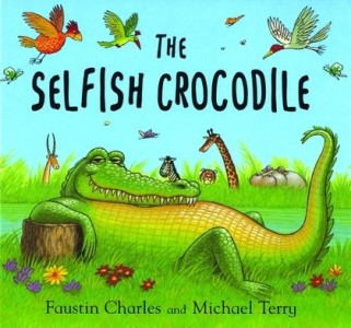 The Selfish Crocodile by Faustin Charles and Michael Terry, picture via Bloomsbury Publishing